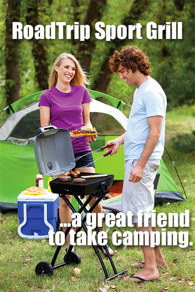 Coleman RoadTrip Sport Grill, a great Friend to Take Camping